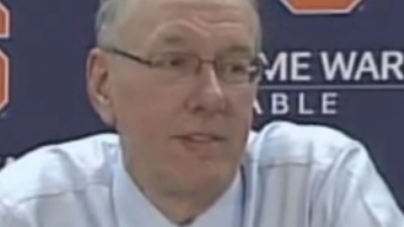 The 2010 S.O.B. for Best Boeheim Quote