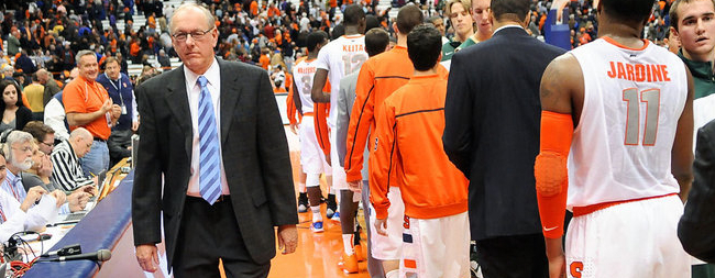 Jim Boeheim Calls SU Overrated, But It Might Be His Fault