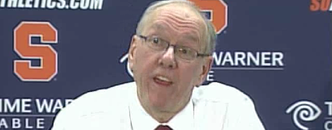 Jim Boeheim Attacks Local Media, Calls Out Mike Waters & Donna Ditota