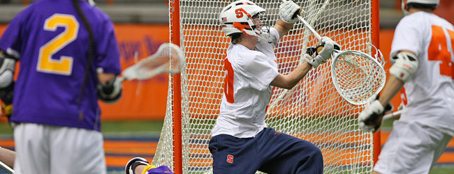 Syracuse Goalie Matt Lerman Tells Fizz He Deserves to Win Starting Job