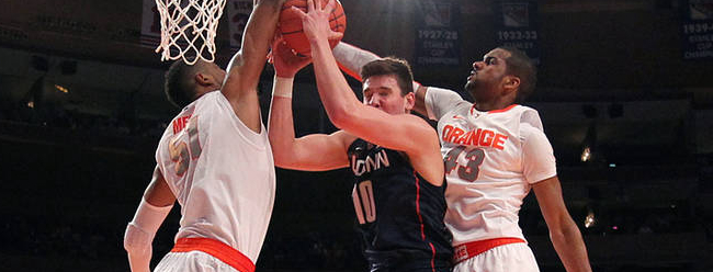 """Nothing Bothers Us."" Boeheim's Epic Words as Syracuse Beats UConn"