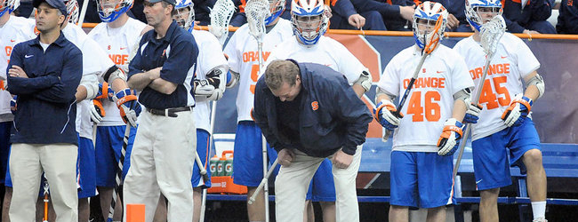 Rock Bottom: After Falling to Georgetown, SU Lax in Danger of Lost Season