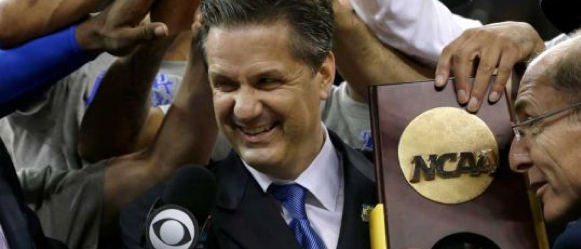 Terrifying Sight for College Hoops Recruiting: John Calipari with a Ring