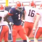 "One Man Band: Spring Game Displays ""The Syracuse Slash"" Ashton Broyld"