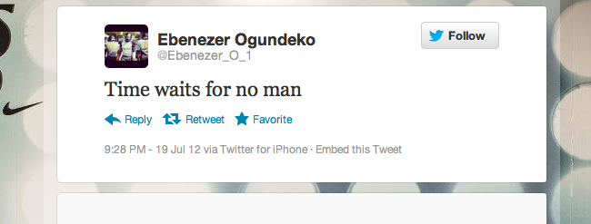 SU Target Ebenezer Ogundeko's Retweets Show Support From All 3 Finalists