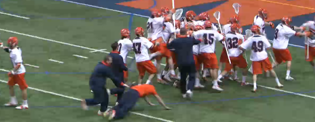Cardiac Cuse: Young & Hungry SU Lax Is Playing Giant-Killer, Slays Cornell