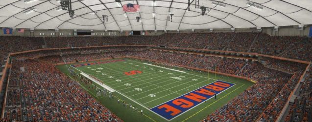 Why Does Syracuse Resist Turning the Carrier Dome into a Unique Homefield?