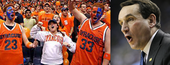 Here's How To Make the Center Court Plan Work for Syracuse-Duke Hoops