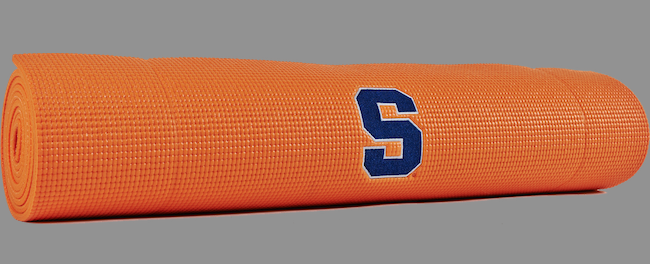 Win Your Own Syracuse Yoga Mat!