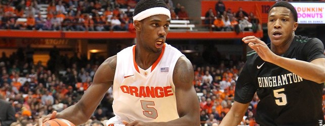 Syracuse Hoops Smokes Binghamton, Balanced Scoring Lead the Way