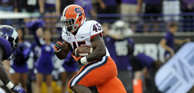 Rome-ing On Out: Syracuse RB Jerome Smith Declares for 2014 NFL Draft