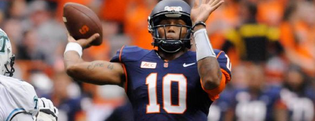 A Year in Review: Terrel Hunt's Wild 2013 Syracuse Football Season