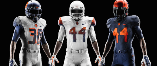 LSU + New Uniforms = Big Gains for Syracuse Football Recruiting