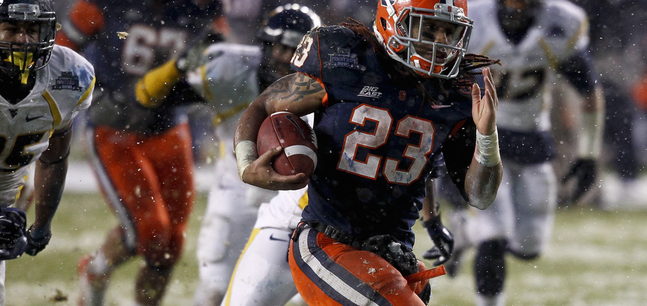 ID'ing the Run Game: SU Football's 2015 Class Is Developing a Theme Early On