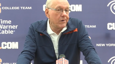 Syracuse Decides To Bite Bullet Now on NCAA Postseason Ban