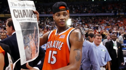 Carmelo Anthony Reminisces About Syracuse in Return with Knicks