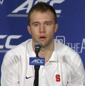 Syracuse's Cooney Says Playing on Road in ACC is Tougher Than Big East