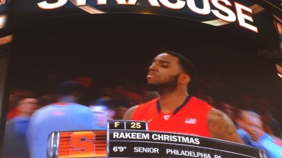Syracuse's Rakeem Christmas Named Finalist for Oscar Robertson Trophy