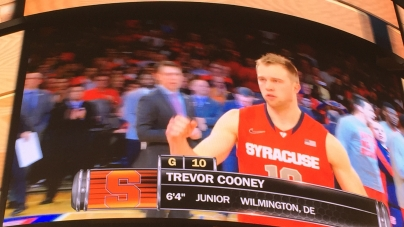 Cooney Comes Up Clutch for Syracuse