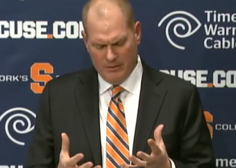 Scott Shafer Is Officially on the Hot Seat