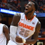 Christmas Wraps up Syracuse Career With Some Hardware