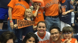 Syracuse Fans Come Out To Support Boeheim's Army in Chicago