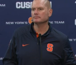 Syracuse Makes Right Move in Firing Scott Shafer