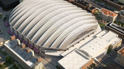 Carrier Dome Update: First Glimpse of the New Roof and a Timeline Denied by University