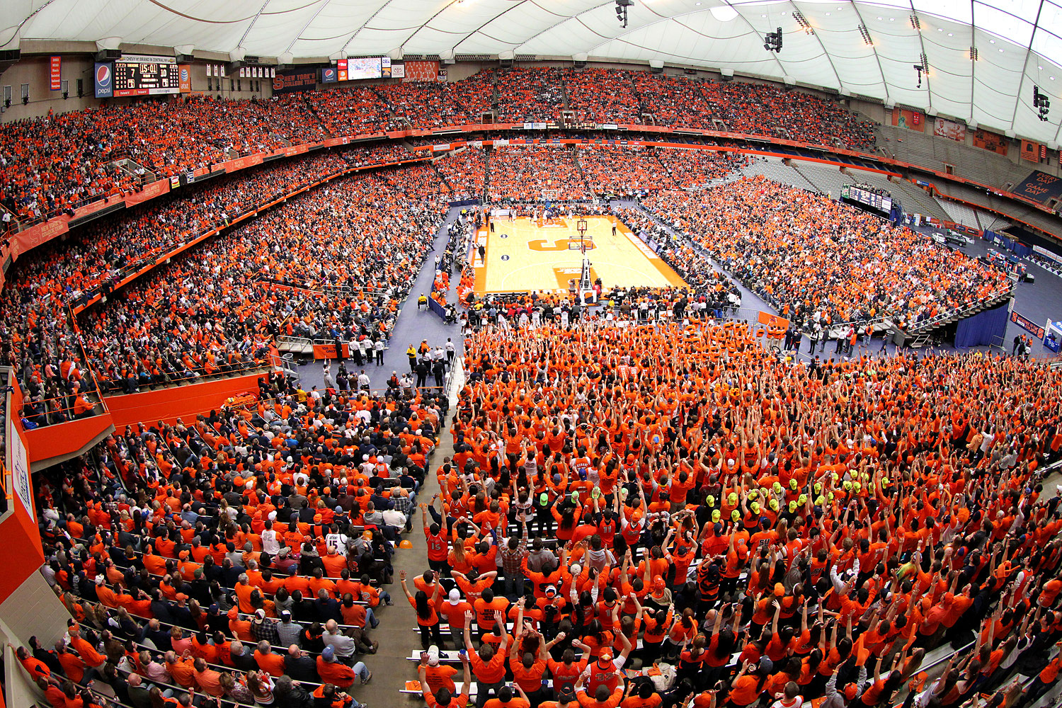 Why Syracuse Basketball Attendance Dropped In 2015 16