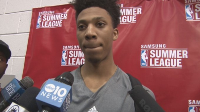 Malachi Richardson Shaky in Summer League Debut