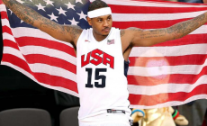 Syracuse Legend Carmelo Anthony Passes Michael Jordan on Olympic Scoring List