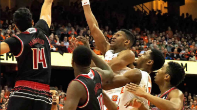 Syracuse falls to No. 8 Louisville, 76-72, in Overtime Heartbreaker