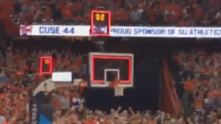 Watch the Phone Footage from Syracuse Fans of the Shot That Beat Duke