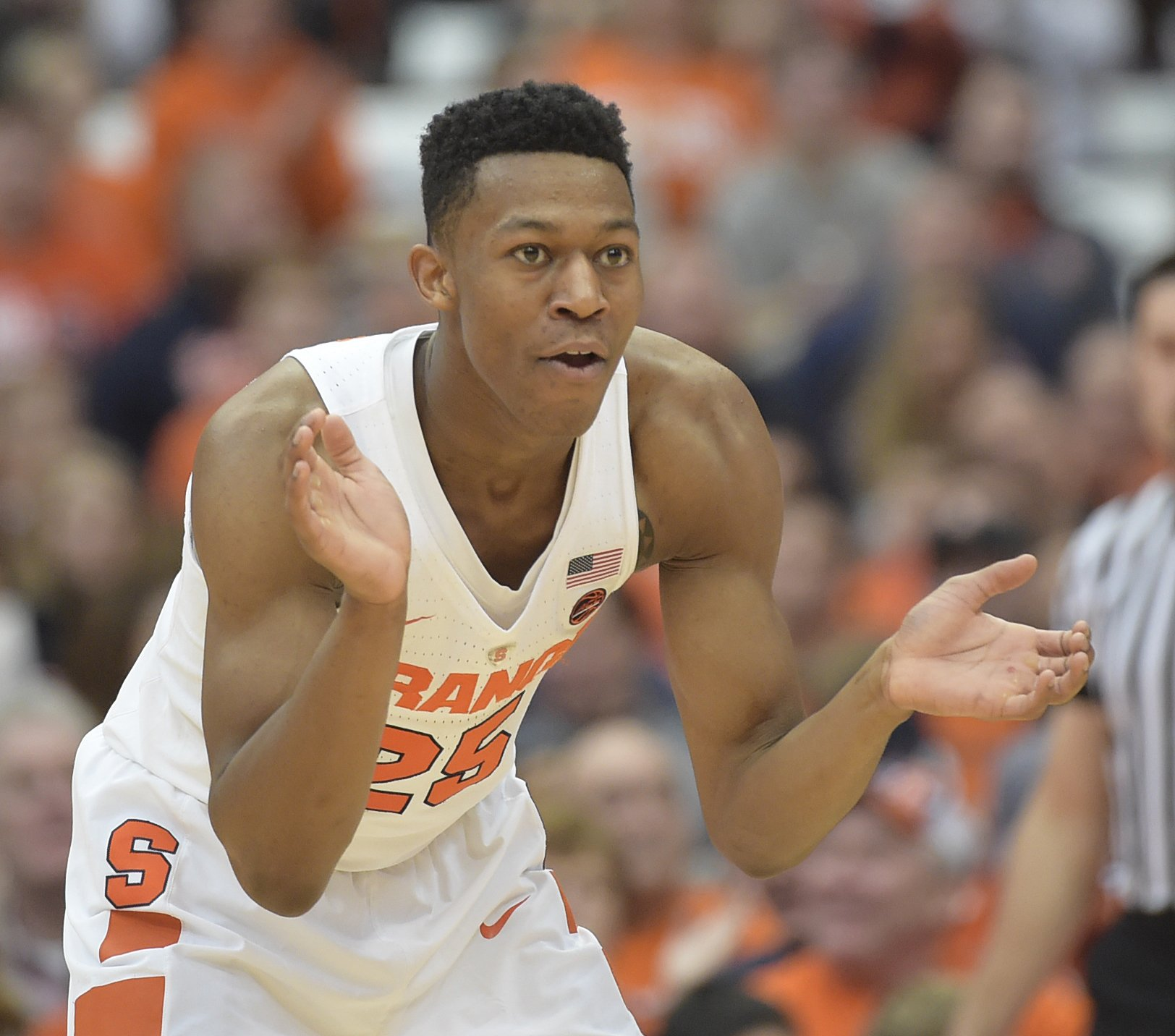 Tyus Battle is Learning From Former SU Prospect's Mistakes ...