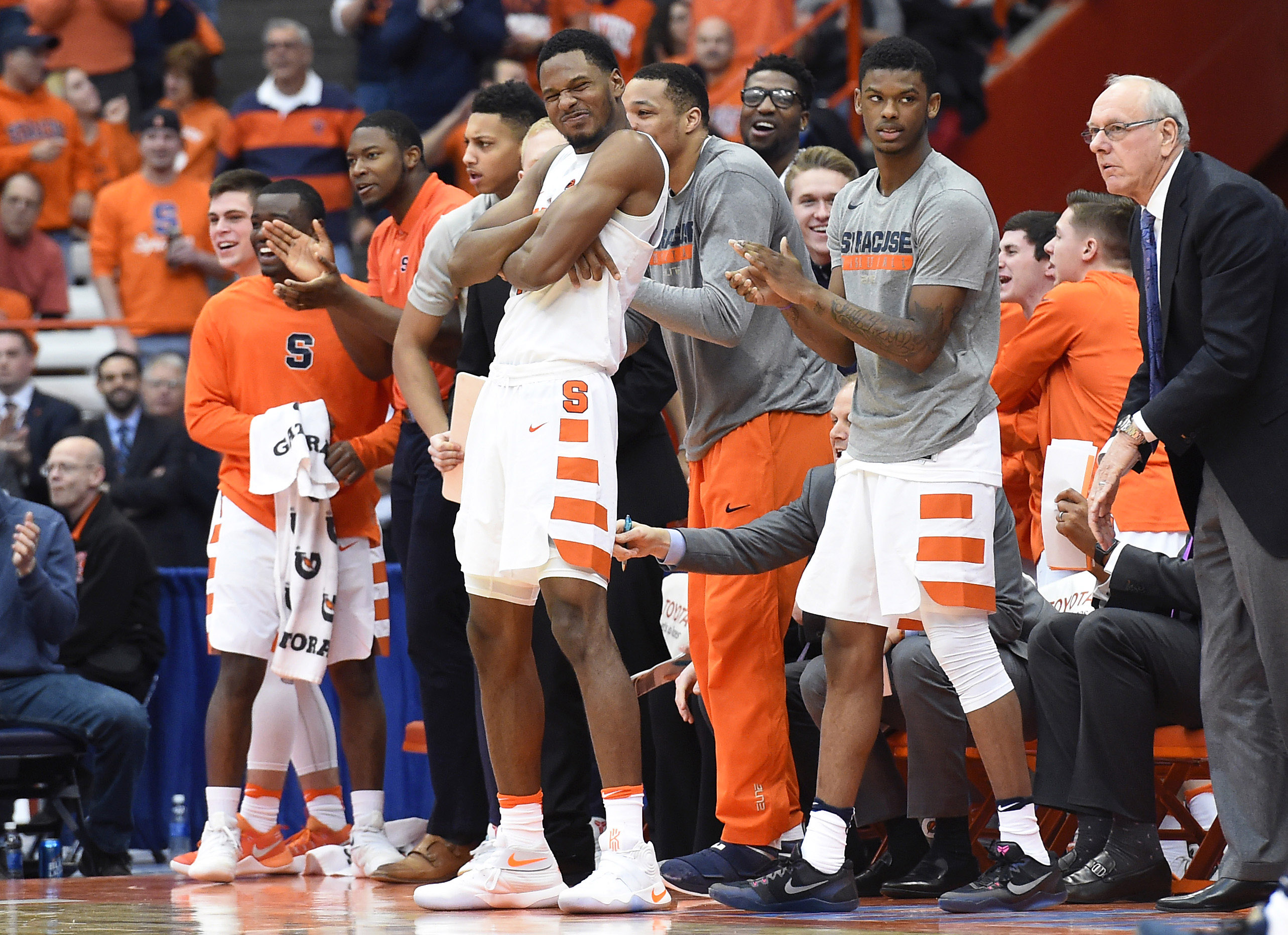 What Does Syracuse Basketball S Roster Look Like For Next Season