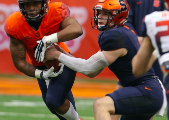First-Team Offense Lays an Egg in Syracuse Football Spring Game