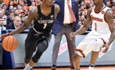 Syracuse v Georgetown Basketball Rivalry on the Big Stage in 2017