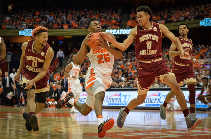Three Reasons The Boston College Game Is Crucial To Su S Tournament