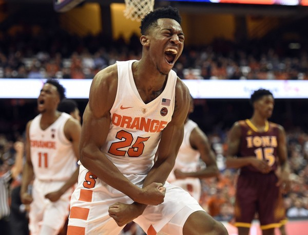 Guard Tyus Battle withdraws from National Basketball Association draft, returns to Syracuse