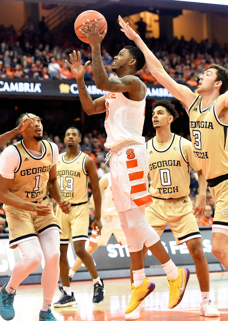 Syracuse Lays An Egg In Lopsided Loss To Georgia Tech