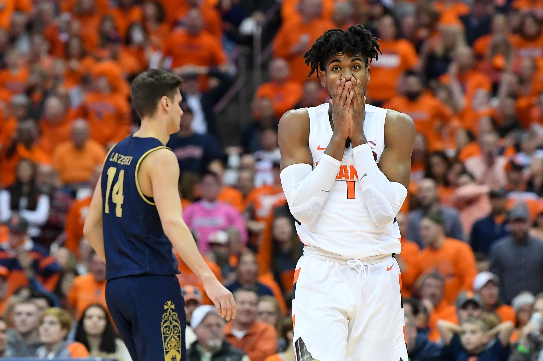 Syracuse knocks off No. 18 Virginia in overtime